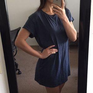 H&M Navy T-Shirt Dress